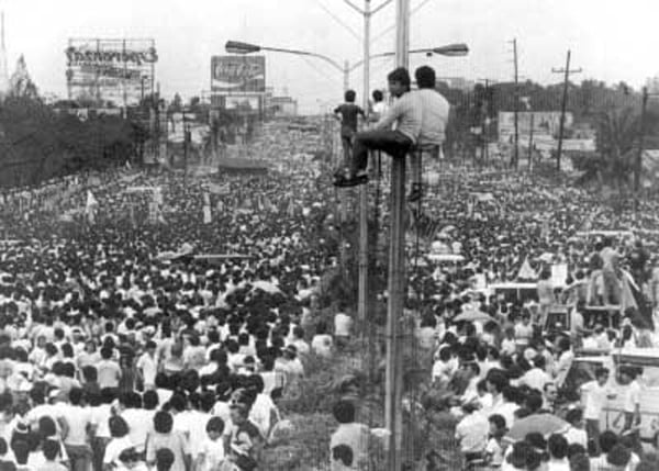 the philippine revolution The people power revolution (also known as the edsa revolution and the philippine revolution of 1986) was a series of popular demonstrations in the philippines.