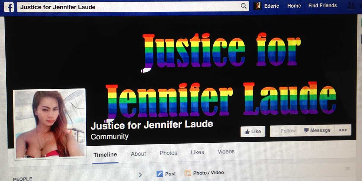 Justice for Jennifer Laude Facebook page