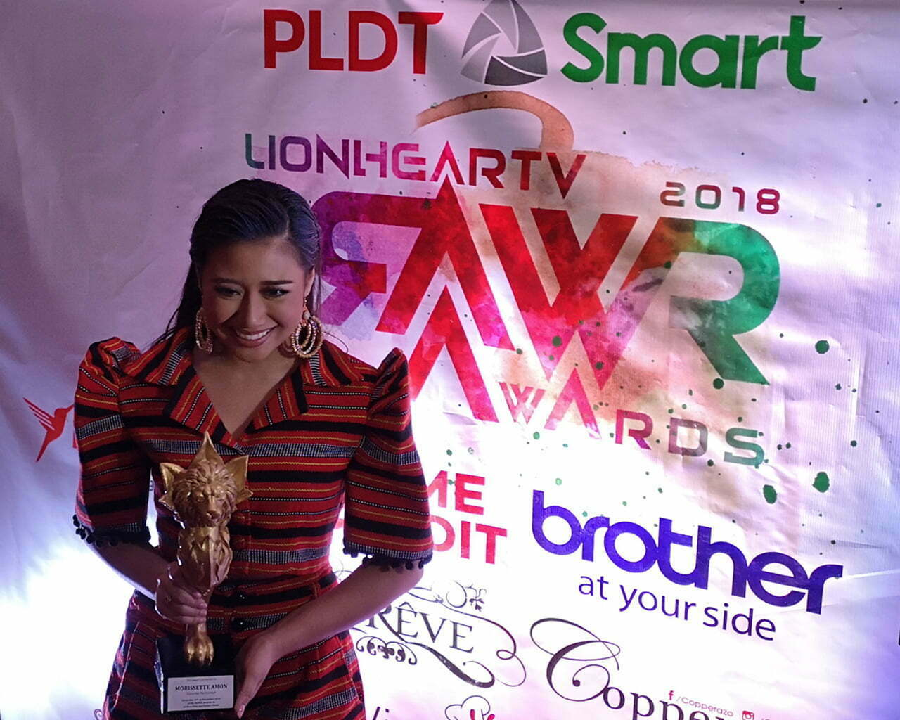 Morissette at RAWR Awards 2018